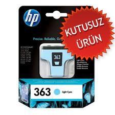 HP - HP 363 C8774EE AÇIK MAVİ KARTUŞ (KUTUSUZ ÜRÜN)