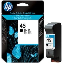 HP - HP 45 51645GE SİYAH ORJİNAL KARTUŞ - 21 ML