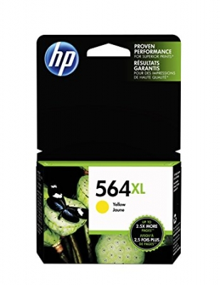 HP - HP 564XL CB325WN SARI ORJİNAL KARTUŞ DeskJet 3070A, OfficeJet 4610 / 4620