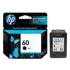 HP - HP 60 CC640WN SİYAH ORJİNAL KARTUŞ- Envy 110 / 111 / 114 / 120