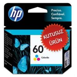 HP - HP 60 CC643WB RENKLİ ORJİNAL KARTUŞ (Kutusuz Ürün)