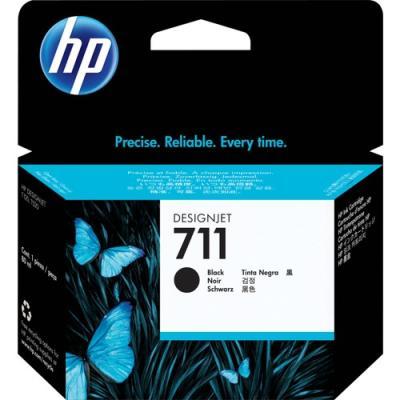 HP - HP 711 CZ133A SİYAH ORJİNAL KARTUŞ 80 ml. Designjet T120 / T520