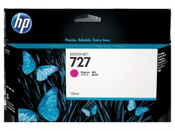 HP - HP 727 B3P20A KIRMIZI ORJİNAL KARTUŞ T920 / T1500 / T2500