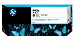 HP - HP 727 C1Q12A MAT SİYAH ORJİNAL KARTUŞ 300 ml T920 / T1500