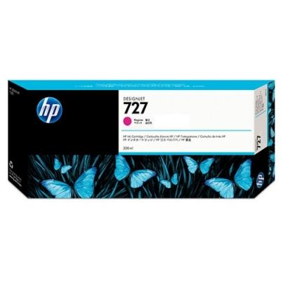 HP - HP 727 F9J77A KIRMIZI ORJİNAL KARTUŞ 300 ml T920 / T1500 / T2500