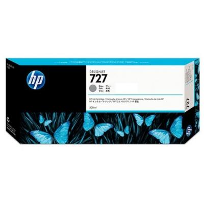 HP - HP 727 F9J80A GRİ ORJİNAL KARTUŞ 300 ml T920 / T1500 / T2500