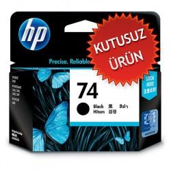 HP - HP 74 CB335W SİYAH ORJİNAL KARTUŞ - J5700 / J5725 / J5730 / J5735 (Kutusuz Ürün)