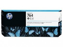 HP - HP 764 C1Q18A GRİ ORJİNAL KARTUŞ DesignJet T3500