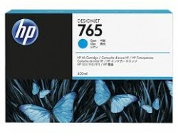 HP - HP 765 F9J52A MAVİ ORJİNAL KARTUŞ 400 ml DesignJet T7200