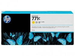 HP - HP 771C B6Y10A SARI PLOTTER KARTUŞU-DesignJet Z6200