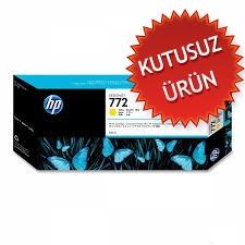 HP - HP 772 CN630A SARI ORJİNAL KARTUŞ.- Z5200 / Z5400 (Kutusuz Ürün)