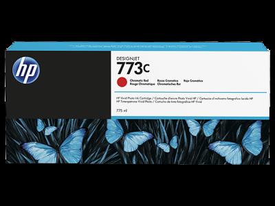 HP - HP 773C C1Q38A KROMATİK KIRMIZI ORJİNAL KARTUŞ DesignJet Z6600 / Z6800