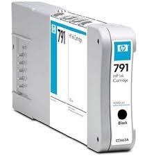 HP - HP 791 CC663A SİYAH PLOTTER KARTUŞU 1000 ML. DesignJet 8000/9000