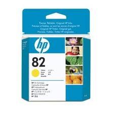 HP - HP 82 CH568A SARI RENKLİ ORJİNAL KARTUŞ-28 Ml