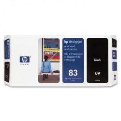 HP - HP 83 C4960A UV SİYAH ORJİNAL KAFA KARTUŞU - DesignJet 5000 / 5500