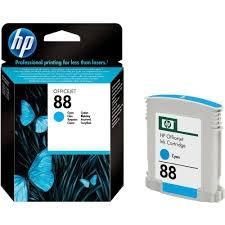 HP - HP 88 C9386AE MAVİ RENKLİ ORJİNAL KARTUŞ