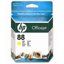 HP - HP 88 C9388AE SARI RENKLİ ORJİNAL KARTUŞ