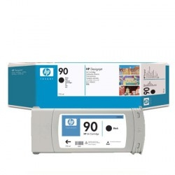 HP - HP 90 C5059A SİYAH ORJİNAL KARTUŞ - DesignJet 4000 / 4500 / 4520
