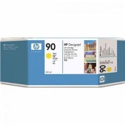 HP - HP 90 C5064A SARI ORJİNAL KARTUŞ - DesignJet 4000 / 4500 Serisi