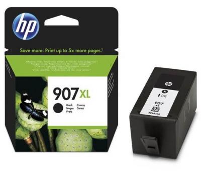 HP - HP 907XL T6M19AE SİYAH ORJİNAL KARTUŞ Yüksek Kapasite - OfficeJet 6960 / 6970