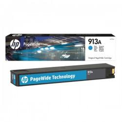 HP - HP 913A F6T77AE MAVİ ORJİNAL PageWide KARTUŞU Pro 352/377/452/477