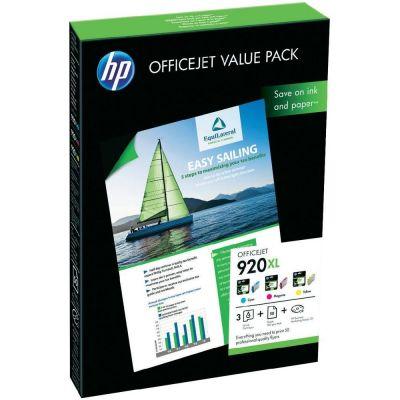 HP 920XL CH081AE Renkli Set Kartuş + 50 Fotoğraf Kağıdı 210 x 297 mm