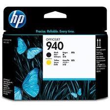 HP - HP 940 C4900A SARI-SİYAH KAFA KARTUŞU