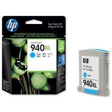 HP - HP 940XL C4907A MAVİ ORJİNAL KARTUŞ - PRO 8000 / 8500