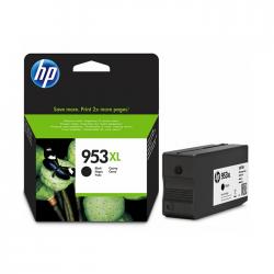 HP - HP 953XL L0S70AE SİYAH ORJİNAL KARTUŞ OfficeJet 7740 / 8210 / 8710 / 8712 / 8725