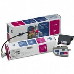 HP - HP C1808A ORJİNAL KIRMIZI KARTUŞ MÜREKKEP SİSTEMİ-DesignJet 2000/2500/3000/3800