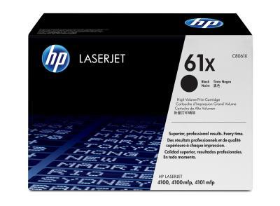 HP - HP C8061X (61X) SİYAH ORJİNAL TONER - HP 4100 ORJİNAL TONER