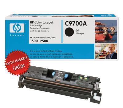 HP - HP C9700A (121A) SİYAH ORJİNAL TONER - HP 1500-2500 YAZICI TONERİ