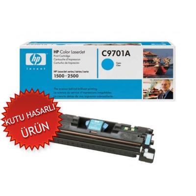 HP - HP C9701A (121A) MAVİ ORJİNAL TONER - HP 1500-2500 YAZICI TONERİ