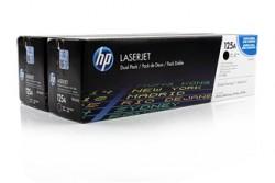 HP - HP CB540AD SİYAH 2Lİ PAKET ORJİNAL TONER- HP CP1215-CP1515