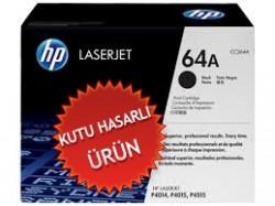 HP - HP CC364A (64A) SİYAH ORJİNAL TONER (Kutu Hasarlı) P4014 / P4015