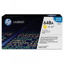 HP - HP CE262A (648A) SARI ORJİNAL TONER - CP4525 / CP4025