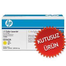 HP - HP CE262A SARI ORJİNAL TONER (Kutusuz Ürün) CP4025 / 4525