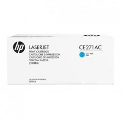 HP - HP CE271AC (650A) MAVİ ORJİNAL TONER-CP5525 TONERİ
