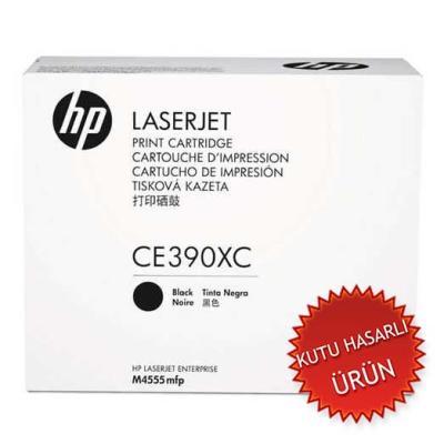 HP - HP CE390XC (90X) SİYAH ORJİNAL TONER - M4555 / M601 / M602 / M603
