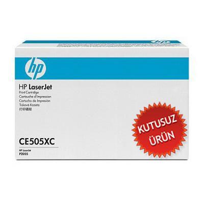 HP - HP CE505XC (05X) SİYAH ORJİNAL TONER - HP P2035 / P2055 (Kutusuz Ürün)