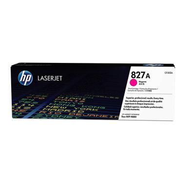 HP - HP CF303A (827A) KIRMIZI ORJİNAL TONER LaserJet M880