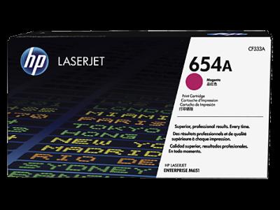 HP - HP CF333A (654A) KIRMIZI ORJİNAL TONER LaserJet M651