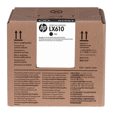 HP - HP CN673A LX610 SİYAH LATEKS MÜREKKEP KARTUŞU L65500 / LX850