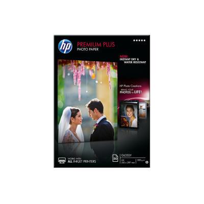 HP - HP CR674A Premium Plus Parlak Fotoğraf Kağıdı, 50 yaprak/A4 210 x 297 mm
