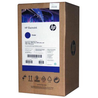 HP - HP Q4004A MOR (VIOLET) ORJİNAL INDIGO MÜREKKEBİ (4lü PAKET) Digital Press 3000, 4000, 5000
