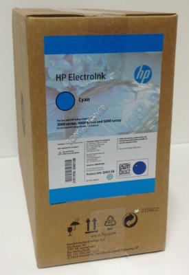 HP - HP Q4013B MAVİ ORJİNAL INDIGO MÜREKKEBİ (4lü PAKET) Digital Press 3000, 4000, 5000