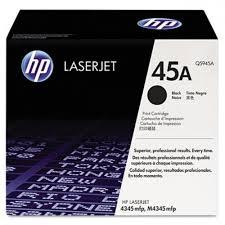HP - HP Q5945A (45A) SİYAH ORJİNAL TONER- LaserJet 4345-M4345