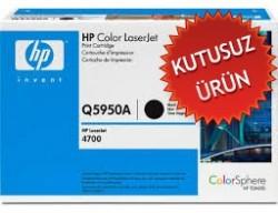 HP - HP Q5950A SİYAH ORJİNAL TONER (Kutusuz Ürün)- HP 4700 TONER