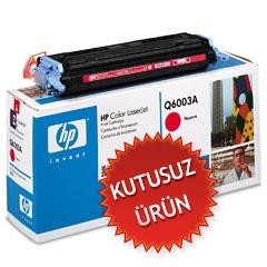 HP - HP Q6003A KIRMIZI ORJİNAL TONER - HP 1600 / 2600 (Kutusuz Ürün)