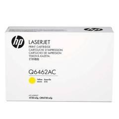 HP - HP Q6462AC SARI ORJİNAL TONER - Laserjet CM4730